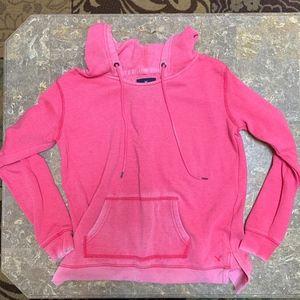 Pink American Eagle Pullover Sweatshirt
